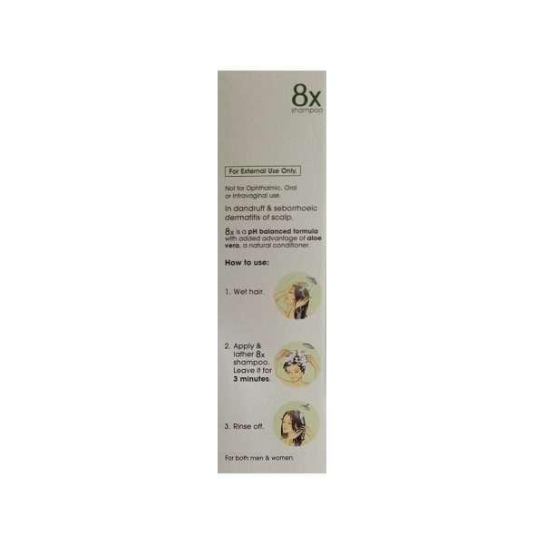 8x shampoo ciclopirox 3