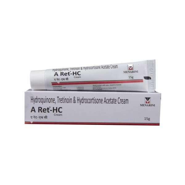 a ret hc cream hydroquinone 1