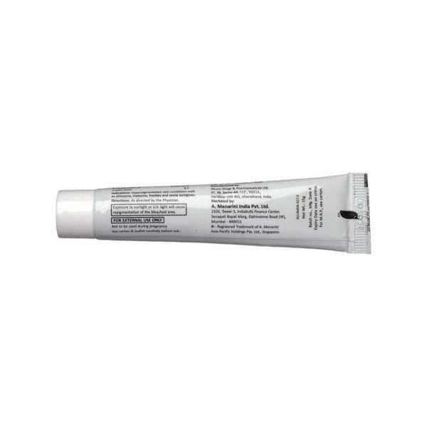 a ret hc cream hydroquinone 4
