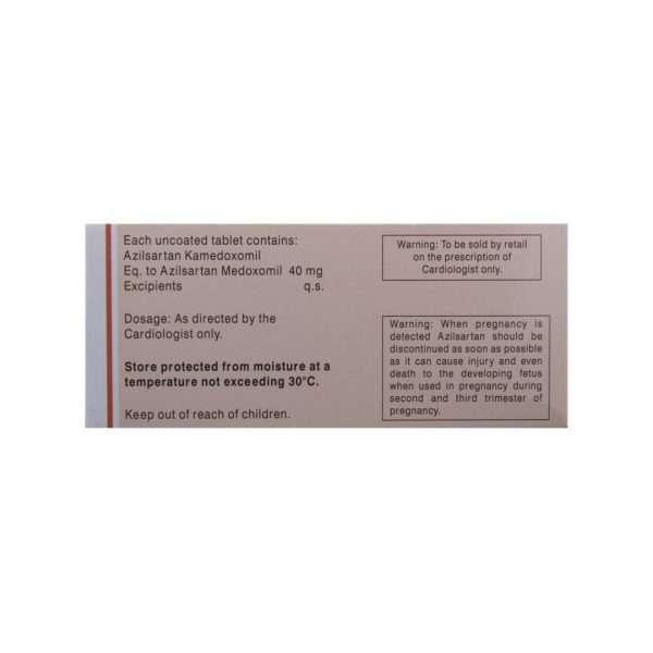 abel tablet azilsartan medoxomil 40mg 3