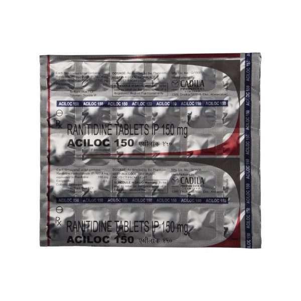 aciloc tablet ranitidine 150mg 4