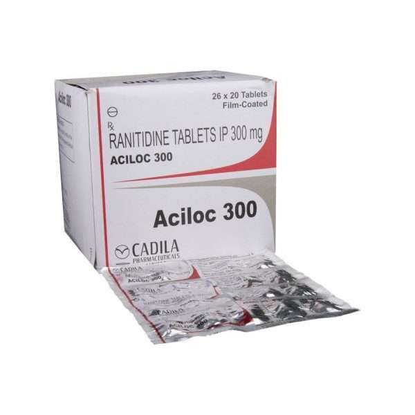 aciloc tablet ranitidine 300mg 1
