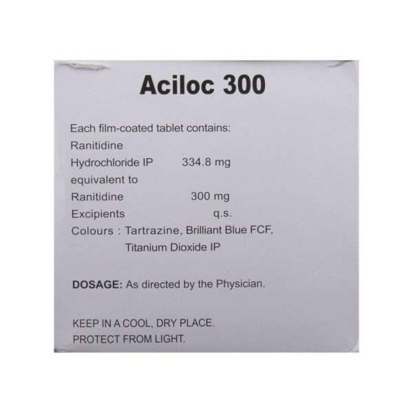 aciloc tablet ranitidine 300mg 3
