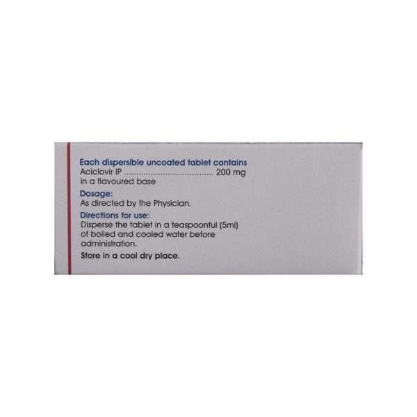 acivir dt tablet acyclovir 200mg 3