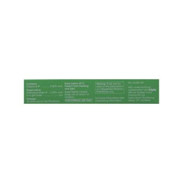 acnedap gel dapsone 5 2