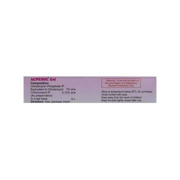acnesol gel clindamycin 1 2