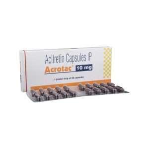 acrotac capsule acitretin 10mg 1