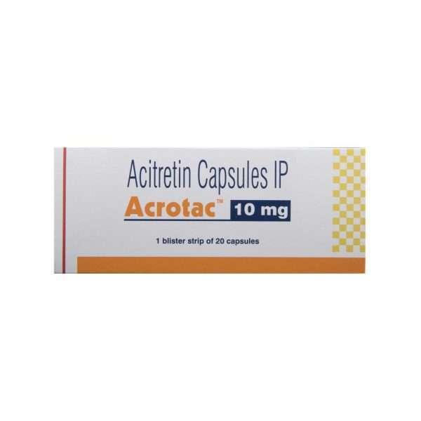 acrotac capsule acitretin 10mg 2