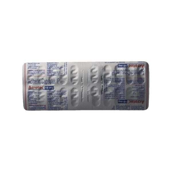 acrotac capsule acitretin 10mg 5
