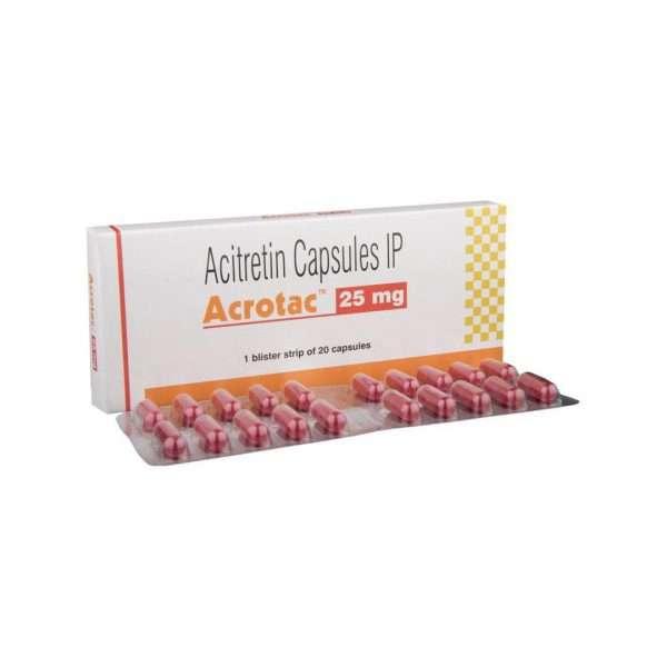acrotac capsule acitretin 25mg 1