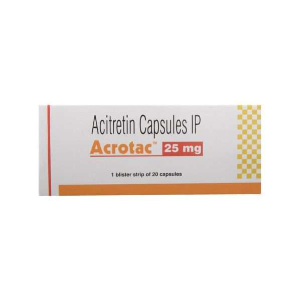 acrotac capsule acitretin 25mg 2