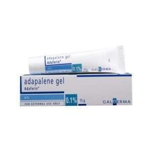 adaferin gel adapalene 0 1 1