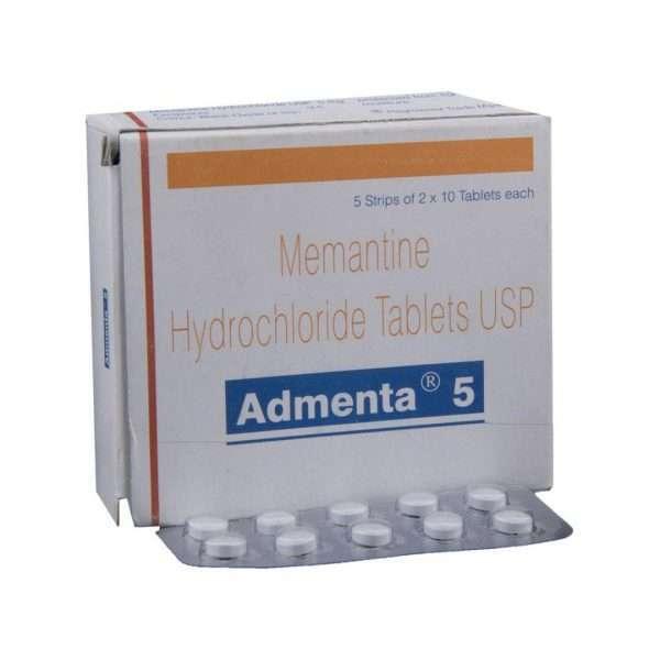 admenta tablet memantine 5mg 1