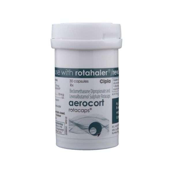 aerocort rotacap beclometasone 4