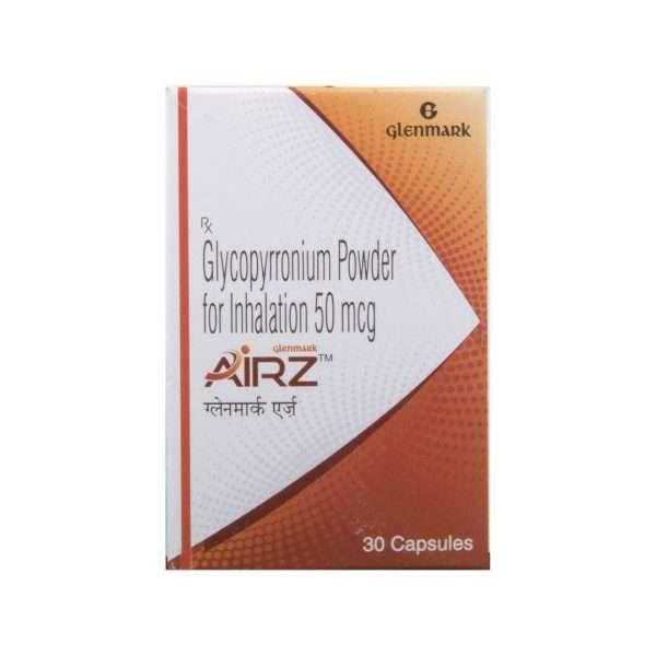 airz tablet glycopyrrolate 50mcg 2