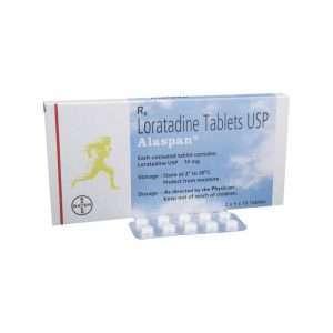 alaspan tablet loratadine 10mg 1