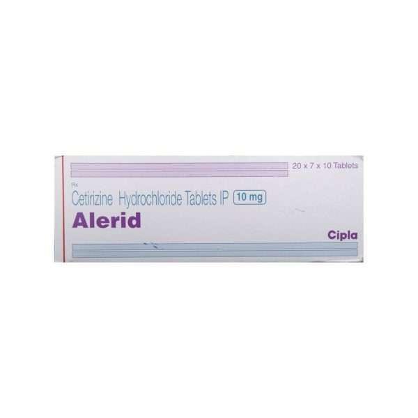 alerid tablet cetirizine 10mg 2