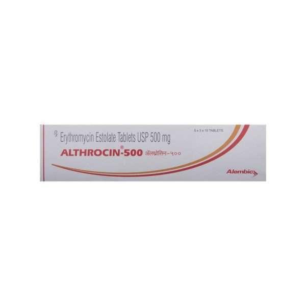 althrocin tablet erythromycin 500mg 2