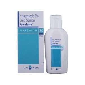 arcolane scalp solution ketoconazole 2 1