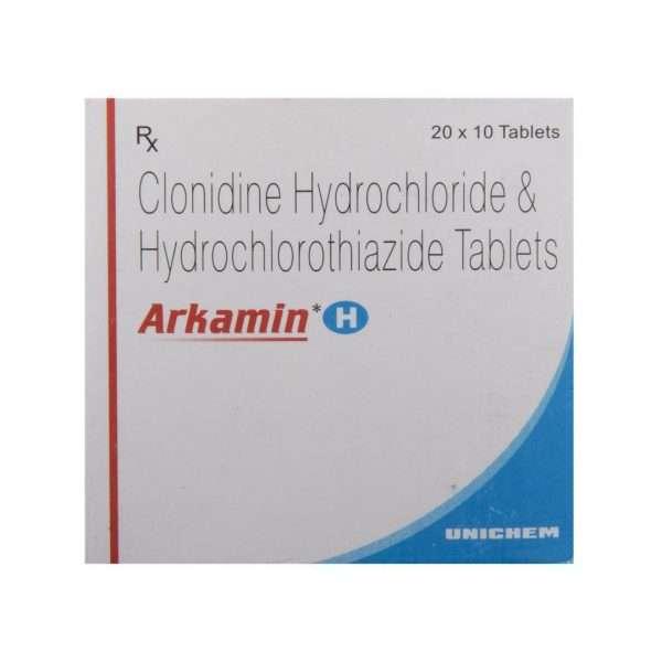 arkamin h tablet clonidine 2