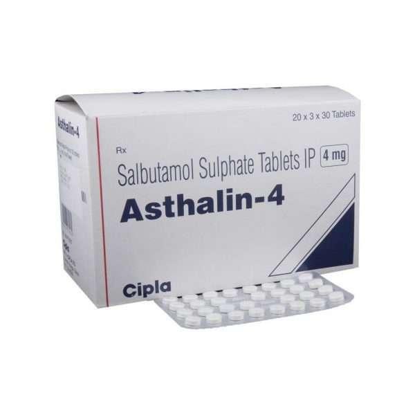 asthalin tablet salbutamol 4mg 1