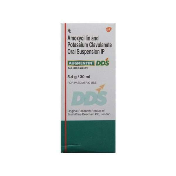 augmentin dds syrup amoxicillin 2
