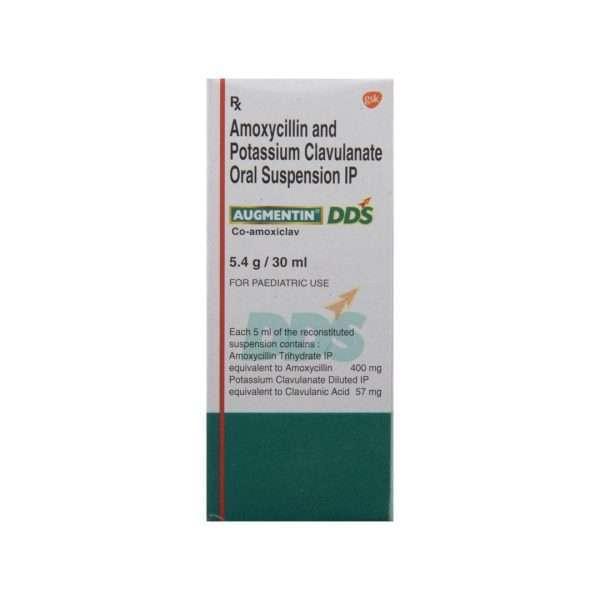 augmentin dds syrup amoxicillin 3