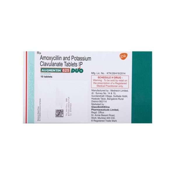 augmentin duo tablet amoxicillin 4