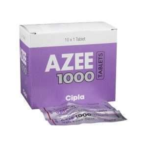 azee tablet azithromycin 1000mg 1