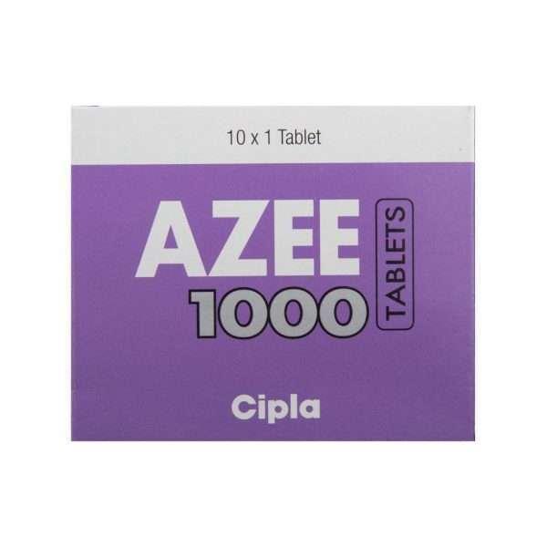 azee tablet azithromycin 1000mg 2
