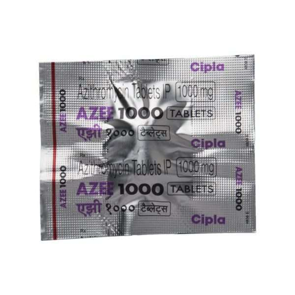 azee tablet azithromycin 1000mg 4