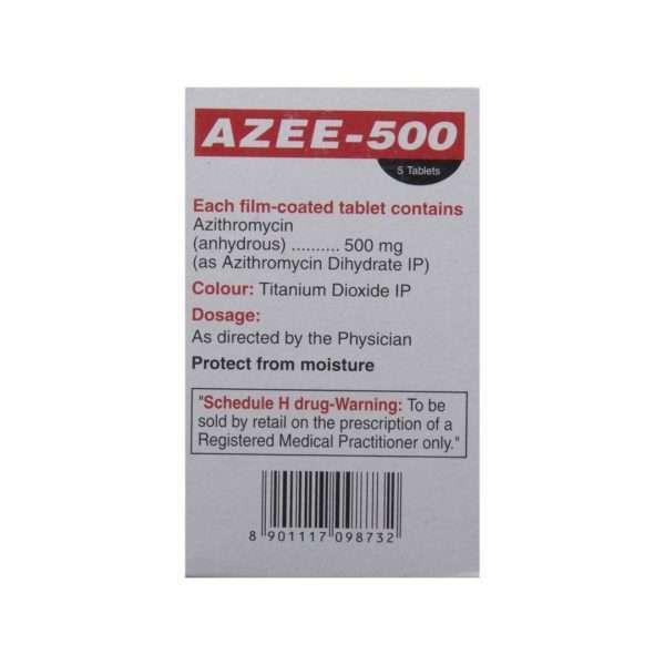 azee tablet azithromycin 500mg 3