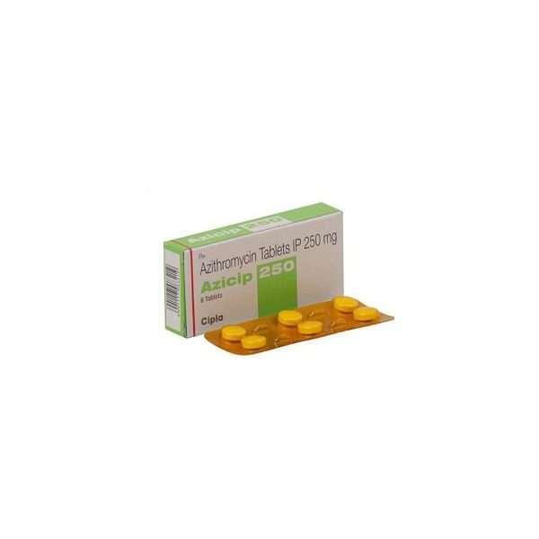 azicip tablet azithromycin 250mg 1