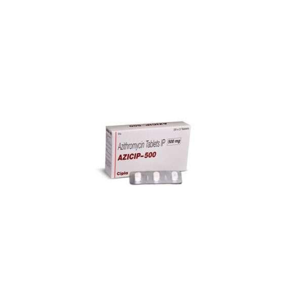 azicip tablet azithromycin 500mg 1