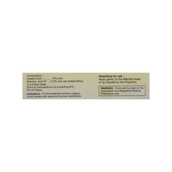 aziderm cream azelaic acid 10 2