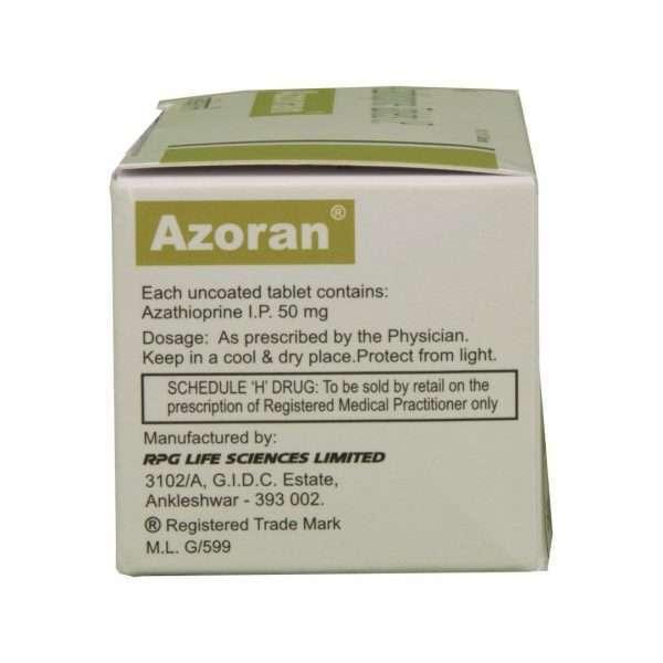 azoran tablet azathioprine 50mg 3