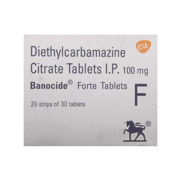 banocide forte tablet diethylcarbamazine 100mg 2