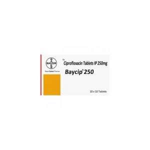 baycip tablet ciprofloxacin 250mg 1