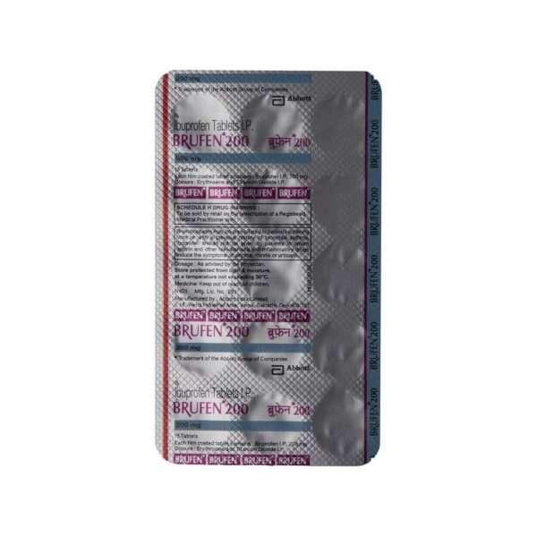 brufen tablet ibuprofen 200mg 5