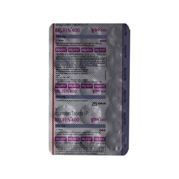 brufen tablet ibuprofen 400mg 5