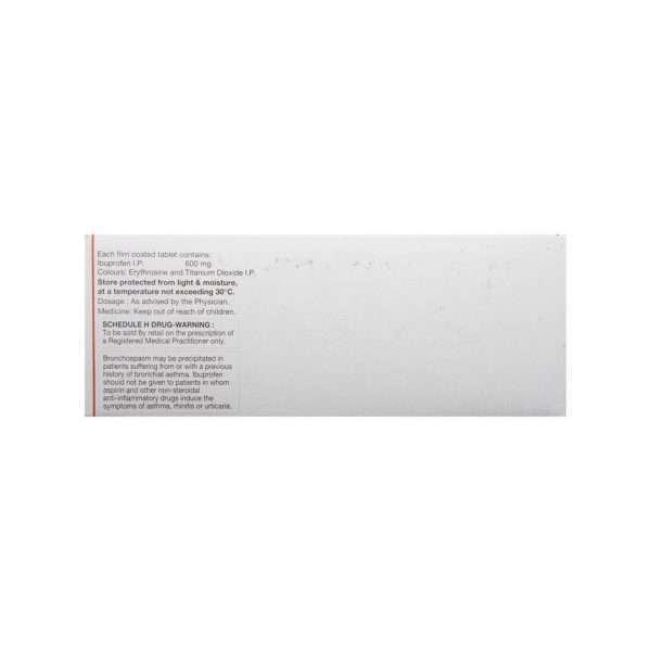 brufen tablet ibuprofen 600mg 3
