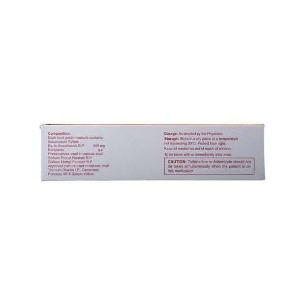 canditral tablet itraconazole 200mg 3