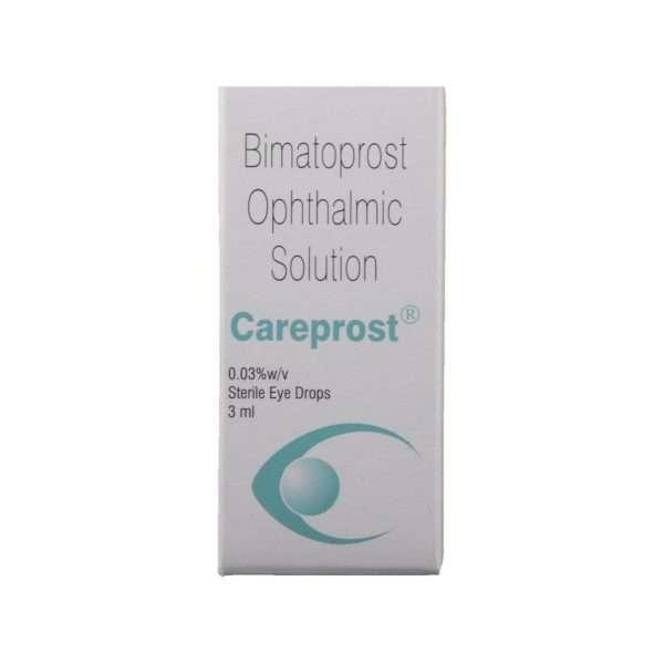 careprost eye drops bimatoprost 0 03 2
