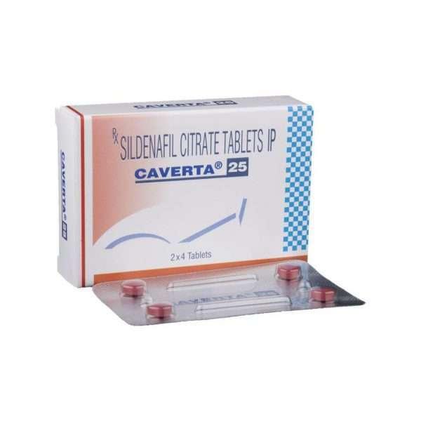 caverta tablet sildenafil 25mg 1