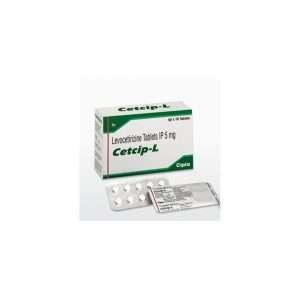 cetcip l tablet levocetirizine 5mg 1