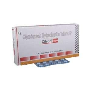 cifran tablet ciprofloxacin 250mg 1