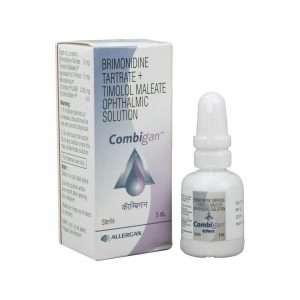combigan eye drops timolol 1