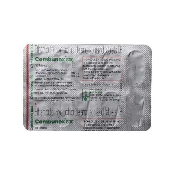 combunex tablet ethambutol 5
