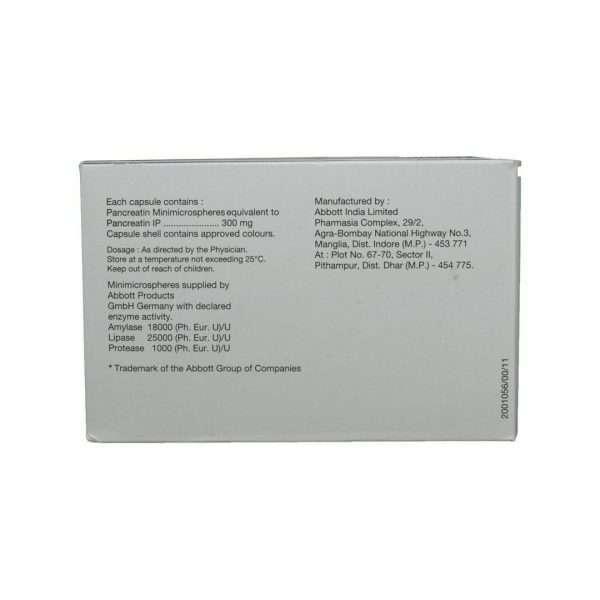 creon capsule pancreatin 300mg 3