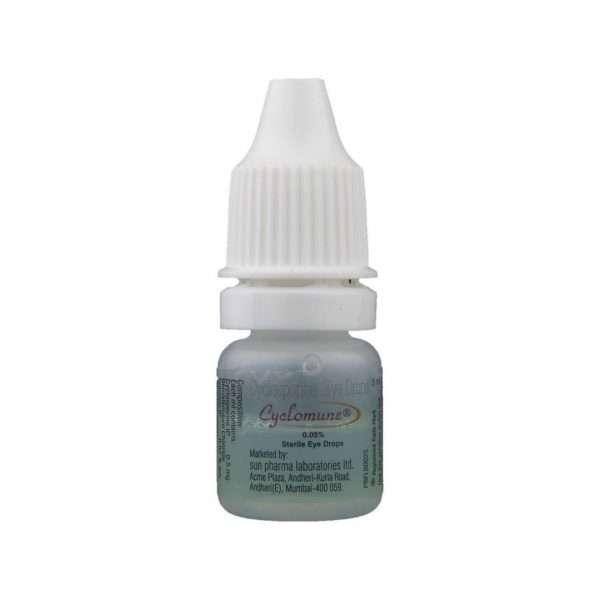 cyclomune eye drops cyclosporine 0 05 4